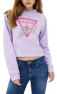 ΦΟΥΤΕΡ GUESS ICON LOGO FLEECE W0YQ47K68I0 ΛΙΛΑ (L)