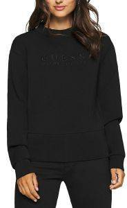ΦΟΥΤΕΡ GUESS ROMINA FLEECE W0YQ40K7UW0 ΜΑΥΡΟ (S)