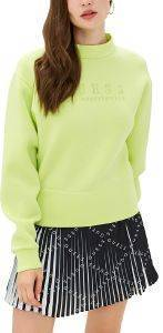 ΦΟΥΤΕΡ GUESS ROMINA FLEECE W0YQ40K7UW0 ΚΙΤΡΙΝΟ NEON