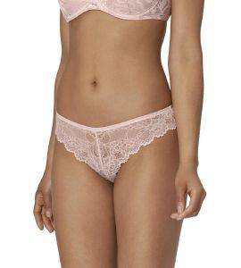 ΣΛΙΠΑΚΙ TRIUMPH TEMPTING LACE BRAZILIAN STRING ΑΝΟΙΧΤΟ ΡΟΖ