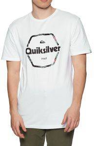 T-SHIRT QUIKSILVER HARD WIRED EQYZT06327 ΛΕΥΚΟ