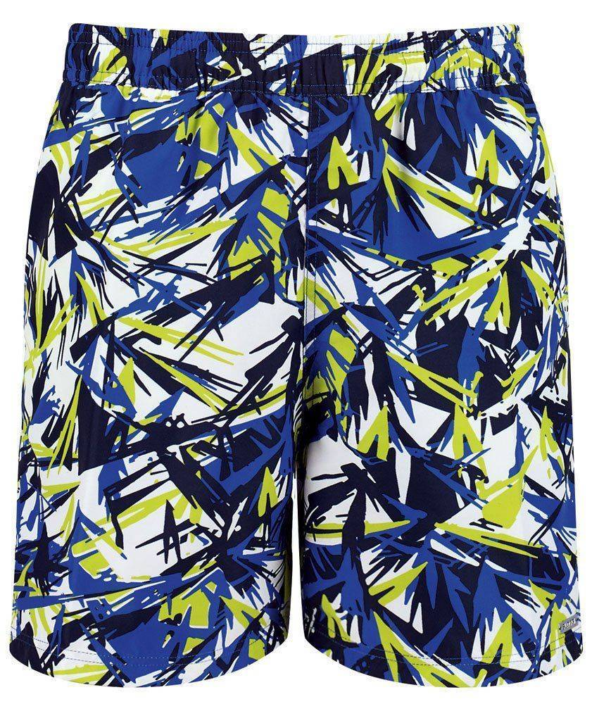 BOXER SLOGGI SWIM LIME SPLASH 04 ΠΡΑΣΙΝΟ