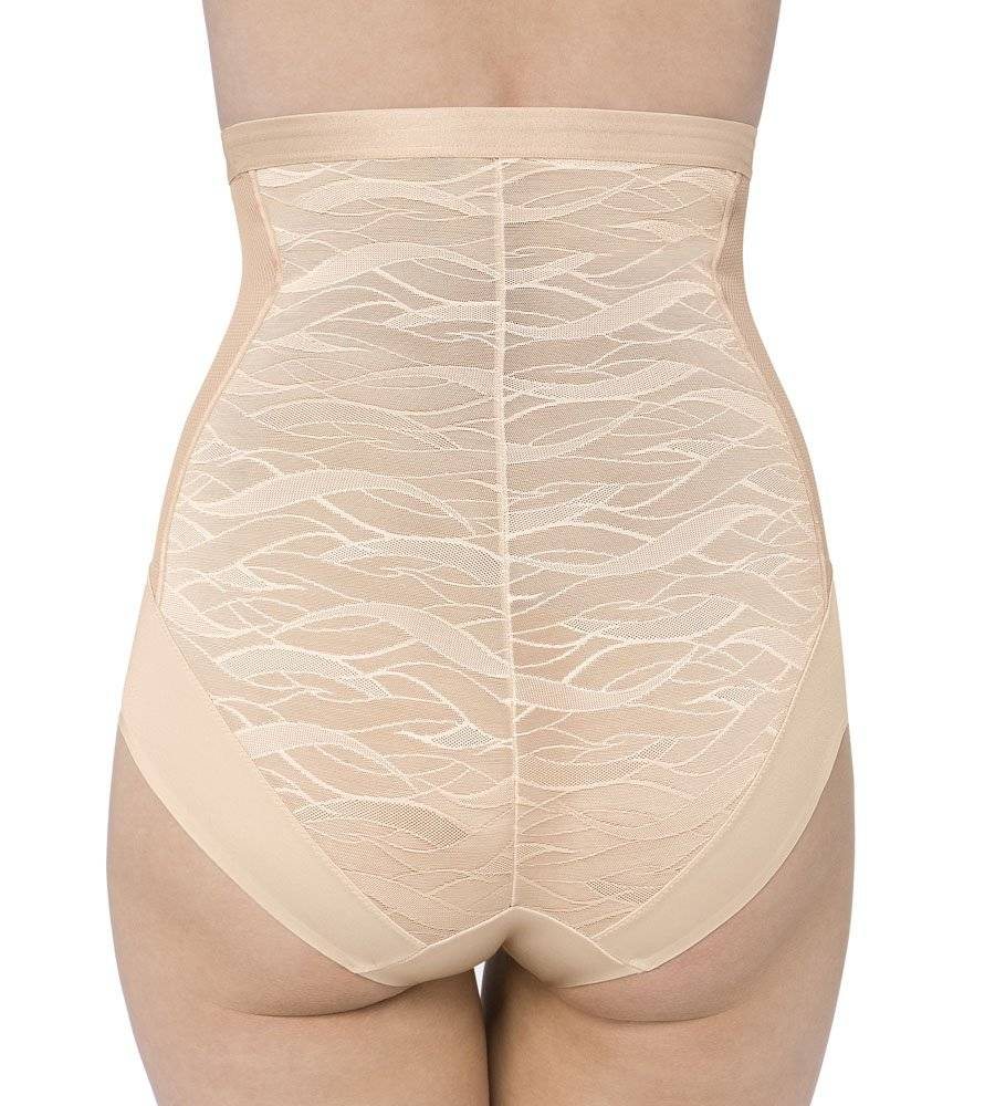 ΛΑΣΤΕΞ TRIUMPH AIRY SENSATION HIGHWAIST PANTY 01 ΜΠΕΖ ΑΝΟΙΧΤΟ
