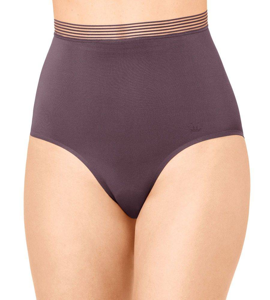 ΛΑΣΤΕΞ TRIUMPH INFINITE SENSATION HIGHWAIST PANTY ΑΝΟΙΧΤΟ ΚΑΦΕ