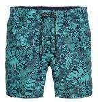 ΑΝΔΡΑΣ-ΜΑΓΙΟ - BOXER TOMMY HILFIGER MEDIUM DRAWSTRING TROPICAL PRINT ΠΡΑΣΙΝΟ
