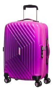 0f7084f4430 ΒΑΛΙΤΣΑ ΚΑΜΠΙΝΑΣ AMERICAN TOURISTER AIR FORCE 1 GRADIENT SPINNER 55CM (S)  ΡΟΖ