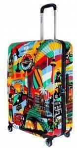 3625cb5b60 ΒΑΛΙΤΣΑ BG BERLIN POP ART - EUROPEAN STYLE URBE SPINNER 55 23CM ΠΟΛΥΧΡΩΜΟ