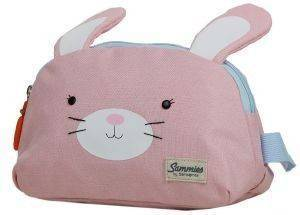 ΝΕΣΕΣΕΡ SAMSONITE HAPPY SAMMIES RABBIT ROSIE ΡΟΖ