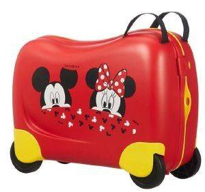 ΒΑΛΙΤΣΑ ΚΑΜΠΙΝΑΣ SAMSONITE DREAM RIDER SPINNER 50/21 MICKEY/MINNIE PEEKING ΚΟΚΚΙΝΟ