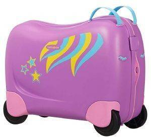 ΒΑΛΙΤΣΑ ΚΑΜΠΙΝΑΣ SAMSONITE DREAM RIDER SPINNER 50/21 PONY POLLY ΜΩΒ
