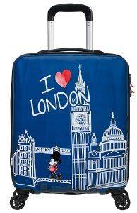 ΒΑΛΙΤΣΑ ΚΑΜΠΙΝΑΣ AMERICAN TOURISTER DISNEY LEGENDS SPINNER 55/20 TAKE ME AWAY MICKEY LONDON