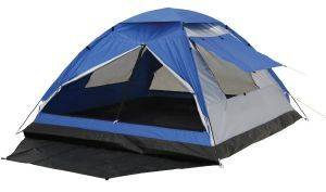 ΣΚΗΝΗ CAMPING PANDA JUNIOR II SILVER/BLUE (3 ΑΤΟΜΩΝ) 10332