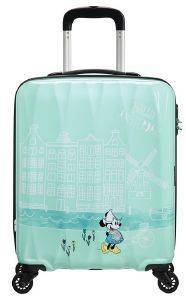 ΒΑΛΙΤΣΑ ΚΑΜΠΙΝΑΣ AMERICAN TOURISTER DISNEY LEGENDS SPINNER 55/20 TAKE ME AWAY MINNIE AMSTERDAM