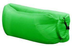 LAZY BAG INFLATABLE AIR SOFA OEM ΠΡΑΣΙΝΟ