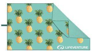 ΠΕΤΣΕΤΑ LIFEVENTURE SOFTFIBRE TREK TOWEL PINEAPPLES  (150 X 90CM)