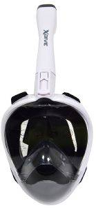 FULL FACE MASK XDIVE CRYSTAL WHITE S/M