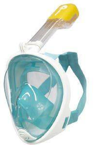 FULL FACE MASK BLUEWAVE  ΤΥΡΚΟΥAΖ/ΛΕΥΚΟ L/XL