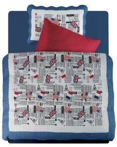 ΚΟΥΒΕΡΛΙ  DAS HOME KID COLLETION MICROFIBRE 4507