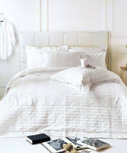 ΣΕΤ ΝΥΦΙΚΟ ΥΠΕΡΔΙΠΛΟ KENTIA BIANCA ΛΕΥΚΟ 8TMX λευκά είδη νυφικο κρεβατι νυφικο κρεβατι