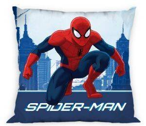 ΜΑΞΙΛΑΡΙ  DISNEY  SPIDERMAN BLUE  POLYESTER 40X40CM