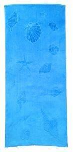 ΠΕΤΣΕΤΑ ΘΑΛΑΣΣΗΣ DILIOS ΜΠΛΕ RIVIERA 75Χ150CM λευκά είδη πετσετεσ θαλασσησ με σχεδιο