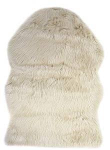 ΓΟΥΝΙΝΟ ΧΑΛI ΔΩΜΑΤΙΟΥ KENTIA SHAGGY 15 ΜΠΕΖ ΠΟΛΥΕΣΤΕΡΑΣ 60Χ90CM λευκά είδη χαλια δωματιο κρεβατοκαμαρα