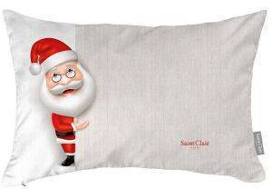 ΜΑΞΙΛΑΡΙ SAINT CLAIR CHRISTMAS  CUSHION 4011 ΜΠΕΖ 30X45CM