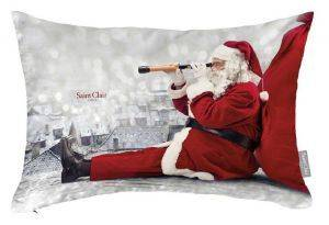ΜΑΞΙΛΑΡΙ SAINT CLAIR CHRISTMAS  CUSHION 4015 ΜΠΕΖ 30X45CM