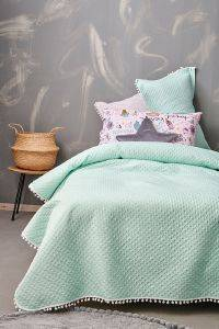 ΚΟΥΒΕΡΛΙ ΜΟΝΟ PALAMAIKI HOME COVER COLLETION JUNIPER SPRAY 160X240CM