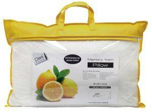 ΜΑΞΙΛΑΡΙ DAS HOME LEMON-MEMORY FOAM  1040 65X45CM