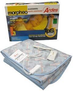 ΗΛΕΚΤΡΙΚΟ ΥΠΟΣΤΡΩΜΑ ΜΟΝΟ ΑΚΡΥΛΙΚΟ ARDES MORPHEO 16202 φροντίδα υγείας ηλεκτρικεσ κουβερτεσ μονεσ
