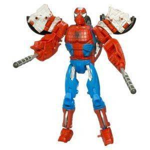 MARVEL TRANSFORMERS CROSSOVER SPIDER MAN
