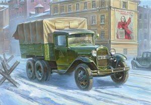 GAZ-AAA SOVIET TRUCK (3-AXLE) παιχνίδια μοντ στατικα μοντελα οχηματα