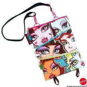 MONSTER HIGH  TRENDY TΣΑΝΤΑ 3 ΣΕ 1