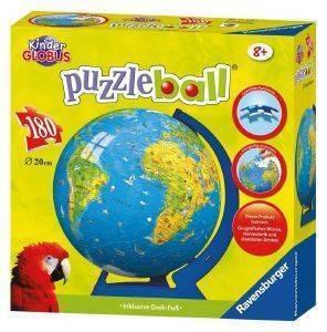 ΥΔΡΟΓΕΙΟΣ ΣΦΑΙΡΑ 180 ΚΟΜΜΑΤΙΑ παιχνίδια puzzle ball puzzles 180