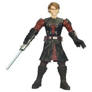 STAR WARS CLONE WARS FORCE BATTLERS ANAKIN SKYWALKER (26 CM)