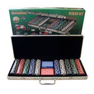 ΒΑΛΙΤΣΑ ΑΛΟΥΜΙΝΙΟΥ ΜΕ 500 ΜΑΡΚΕΣ παιχνίδια casino accessories μαρκεσ