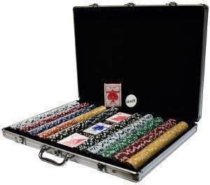 ΒΑΛΙΤΣΑ ΑΛΟΥΜΙΝΙΟΥ ΜΕ 1000 ΜΑΡΚΕΣ παιχνίδια casino accessories μαρκεσ