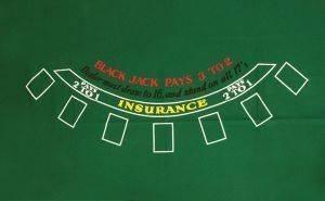 ΤΑΠΕΤΟ BLACK JACK 150Χ250CM παιχνίδια casino accessories τσοχεσ