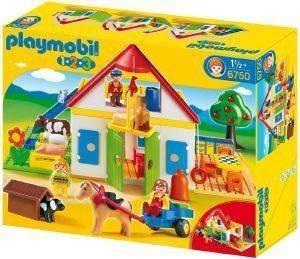 PLAYMOBIL ΜΕΓΑΛΗ ΦΑΡΜΑ 6750 παιχνίδια playmobil 123 18 μηνων
