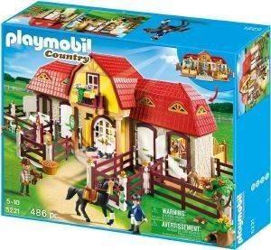 PLAYMOBIL ΜΕΓΑΛΟΣ ΙΠΠΙΚΟΣ ΟΜΙΛΟΣ 5221 παιχνίδια playmobil country