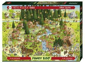 FUNKY ZOO BLACK FOREST HABITAT HEYE 1000 ΚΟΜΜΑΤΙΑ