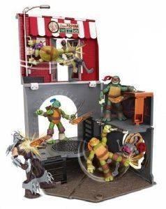 ΧΕΛΩΝΟΝΙΤΖΑΚΙΑ TMNT PIZZA PLAYSET παιχνίδια χελωνονιντζακια χελωνονιντζακια