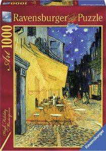 CAFE DE NUIT RAVENSBURGER VAN GOGH 1000 ΚΟΜΜΑΤΙΑ παιχνίδια puzzles 1000 puzzles 1000