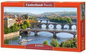 VLTAVA BRIDGES IN PRAGUE CASTORLAND 4000 ΚΟΜΜΑΤΙΑ