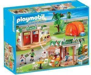 PLAYMOBIL ΜΕΓΑΛΟ ΟΡΓΑΝΩΜΕΝΟ CAMPING 5432 παιχνίδια playmobil summer fun