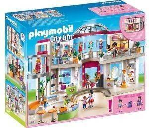 PLAYMOBIL ΜΕΓΑΛΟ ΕΜΠΟΡΙΚΟ ΚΕΝΤΡΟ 5485 παιχνίδια playmobil city