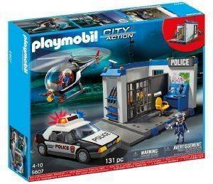 PLAYMOBIL ΑΣΤΥΝΟΜΙΚΟ ΣΕΤ 5607 παιχνίδια playmobil city action