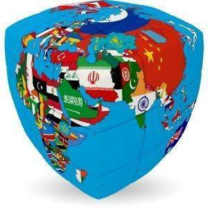 UNITED NATIONS  V-CUBE CHALLENGING PILLOW 3Χ3