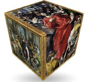 EL GRECO  V-CUBE ART EMOTIONS  FLAT 3Χ3